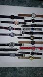 Набір наручних годинників 16 шт. Різні моделі 2 шт б/у + 1 ремінець. photo 2