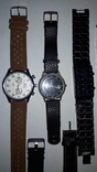 Набір наручних годинників 16 шт. Різні моделі 2 шт б/у + 1 ремінець. photo 3