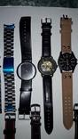 Набір наручних годинників 16 шт. Різні моделі 2 шт б/у + 1 ремінець. photo 4