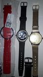 Набір наручних годинників 16 шт. Різні моделі 2 шт б/у + 1 ремінець. photo 5