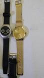 Набір наручних годинників 16 шт. Різні моделі 2 шт б/у + 1 ремінець. photo 6