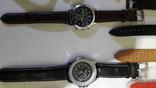 Набір наручних годинників 16 шт. Різні моделі 2 шт б/у + 1 ремінець. photo 8