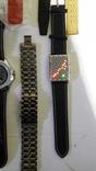 Набір наручних годинників 16 шт. Різні моделі 2 шт б/у + 1 ремінець. photo 9