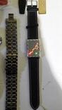 Набір наручних годинників 16 шт. Різні моделі 2 шт б/у + 1 ремінець. photo 10