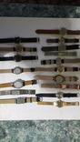 Набір наручних годинників 16 шт. Різні моделі 2 шт б/у + 1 ремінець. photo 11