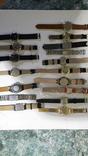 Набір наручних годинників 16 шт. Різні моделі 2 шт б/у + 1 ремінець. photo 12