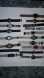Набір наручних годинників 16 шт. Різні моделі 2 шт б/у + 1 ремінець. photo 13