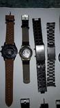 Набір наручних годинників 16 шт. Різні моделі 2 шт б/у + 1 ремінець. photo 14