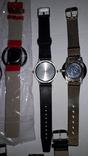 Набір наручних годинників 16 шт. Різні моделі 2 шт б/у + 1 ремінець. photo 16