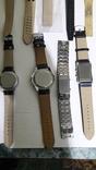 Набір наручних годинників 16 шт. Різні моделі 2 шт б/у + 1 ремінець. photo 19
