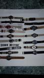 Набір наручних годинників 16 шт. Різні моделі 2 шт б/у + 1 ремінець. photo 21