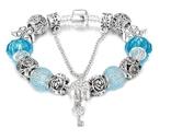 Синие Хрустальные Бусины Из Муранского Стекла. Стиль Pandora. №9 photo 1