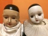 Пара кукол. Пьеро. 19 век. Голландия.