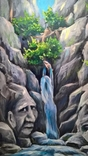 Гірська ріка. Олія, полотно. 25х35см photo 3