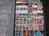 Два больших альбома с чистыми марками СССР /свыше 2200 штук/ 1950-е - 1980-е г.г. photo 14