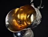 Сахарница Ваза серебрение позолота Винтаж Европа nr-618 photo 4