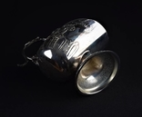 Сахарница Ваза серебрение позолота Винтаж Европа nr-618 photo 7