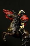 Статуэтка. Бронза. Наполеон переходит через Альпы. 6,3 кг. Европа. (0643) photo 10