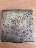 Спичечница серебро-84 photo 2