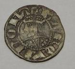 Серебряная монета средневековой Испании