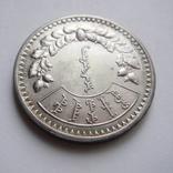 1 тугрик, 1925 год. Монголия. Серебро.