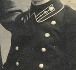 Коллежский регистратор почтово-телеграфного вед-ва МВД с другом. Вильна, 1910 г photo 3
