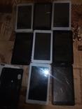 8 планшетов BRAVIS на запчясти