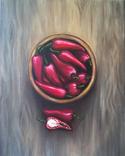 """Картина маслом """"Red & Hot"""""""