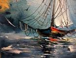 Рыбацкая лодка. И.Мовчан. photo 3