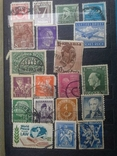 Старые марки со всего мира в альбоме photo 2