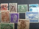 Старые марки со всего мира в альбоме photo 4