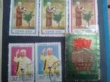 Старые марки со всего мира в альбоме photo 5
