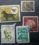 Старые марки со всего мира в альбоме photo 12