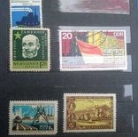Старые марки со всего мира в альбоме photo 13