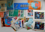 Почтовые блоки СССР 150шт. разные без повторов. photo 1
