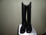 Новые кожаные сапоги для верховой езды 44 размер