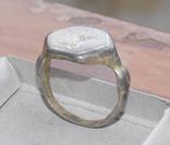 Статусный перстень КР с тамгой - владарским знаком photo 2