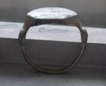 Статусный перстень КР с тамгой - владарским знаком photo 3