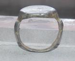 Статусный перстень КР с тамгой - владарским знаком photo 4