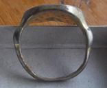 Статусный перстень КР с тамгой - владарским знаком photo 8