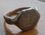 Статусный перстень КР с тамгой - владарским знаком photo 1