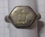 Статусный перстень КР с тамгой - владарским знаком photo 12