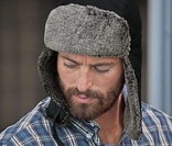 Теплая мужская шапка ушанка Tchibo Германия