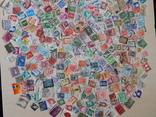 Лот марок 550шт. photo 2