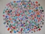 Лот марок 400 шт. photo 1