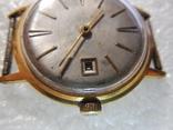 """Часы """"Полёт de lux"""", автоподзавод, 29 камней, клеймо /Au 20/ photo 5"""