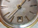 """Часы """"Полёт de lux"""", автоподзавод, 29 камней, клеймо /Au 20/ photo 8"""