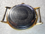 """Часы """"Полёт de lux"""", автоподзавод, 29 камней, клеймо /Au 20/ photo 10"""