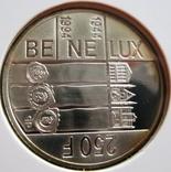 "Люксембург, 250 франков ""50 лет Бенелюкс 1944-1994"""