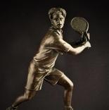 Фигурка Теннисист. Бронза Европа nr-638 photo 2
